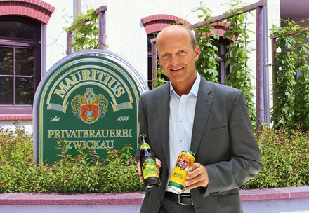 Mauritius: Brewery: We are Mauritius: Jörg Dierig: Managing partner of the Mauritius Brauerei