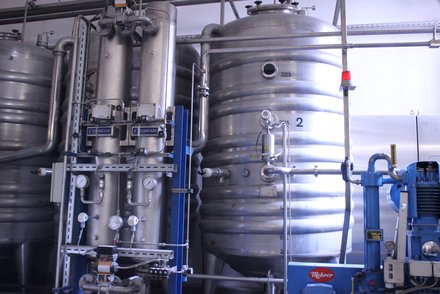 Mauritius: Brewery: Sustainability: Carbon dioxide recovery