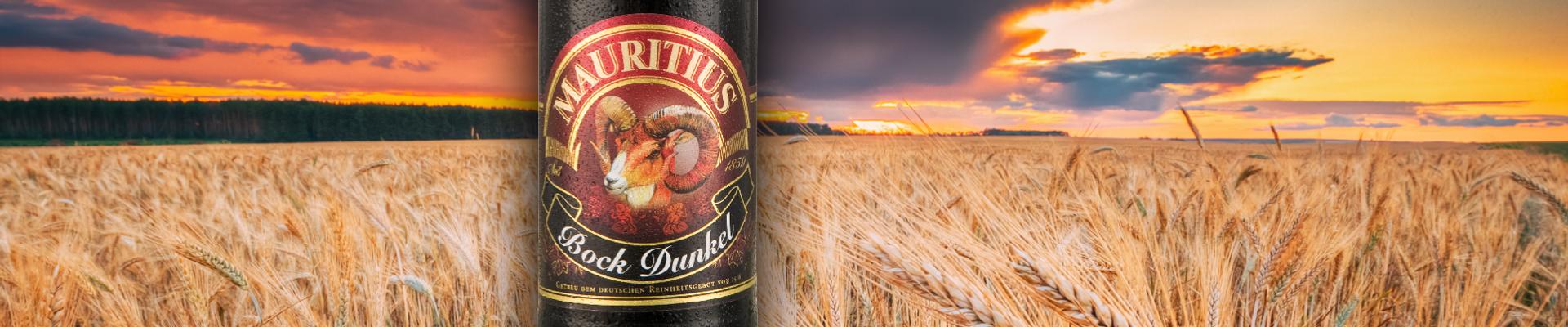 Mauritius: Biere: Bock Dunkel